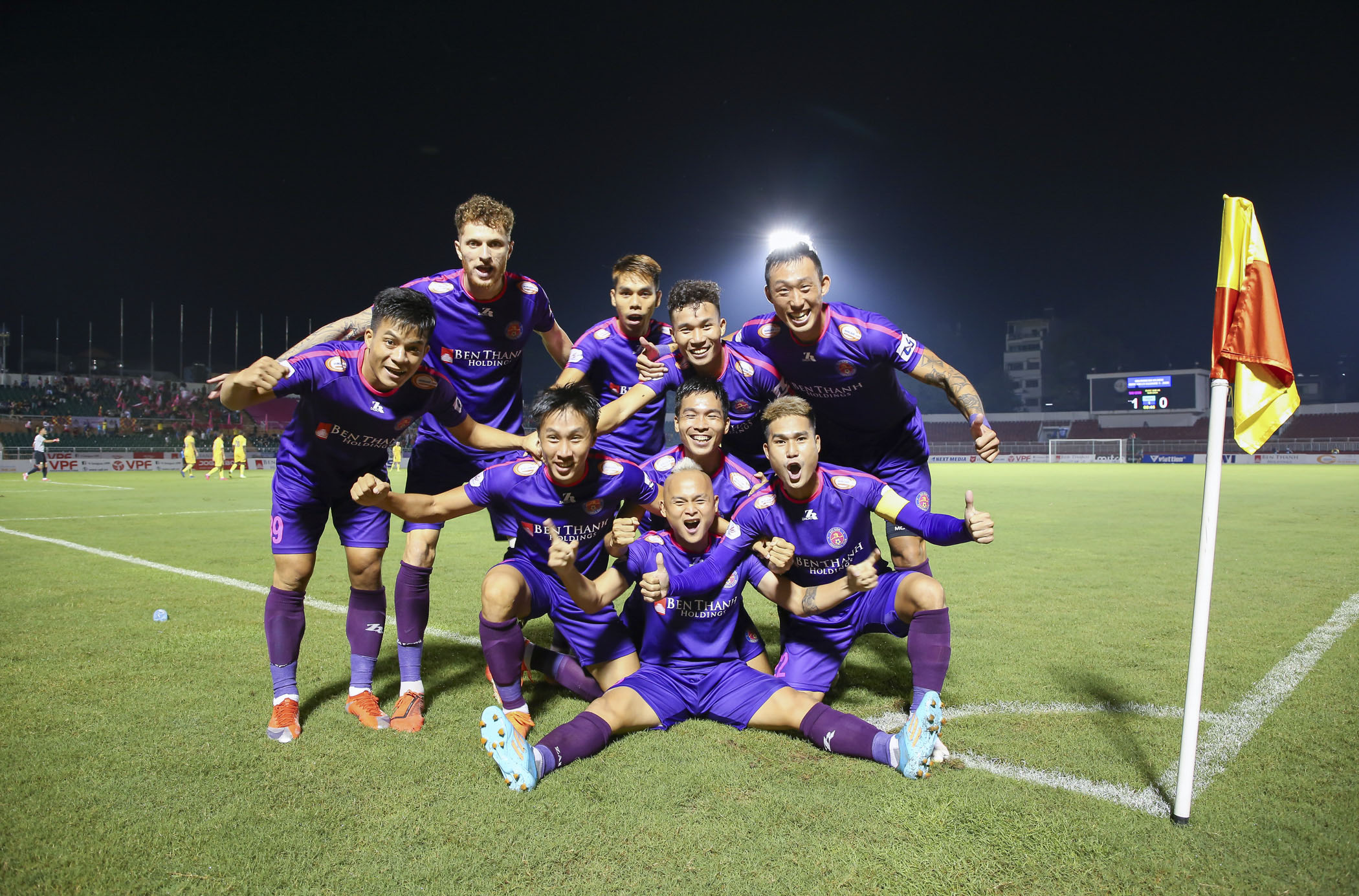 How a starless football club rose to top of Vietnam's V-League 1